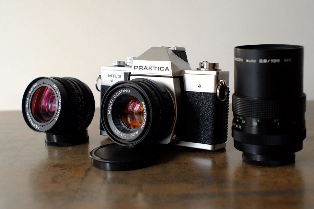 6 Vintage Lenses Prices & Value Praktica MTL3 Pentacon kit